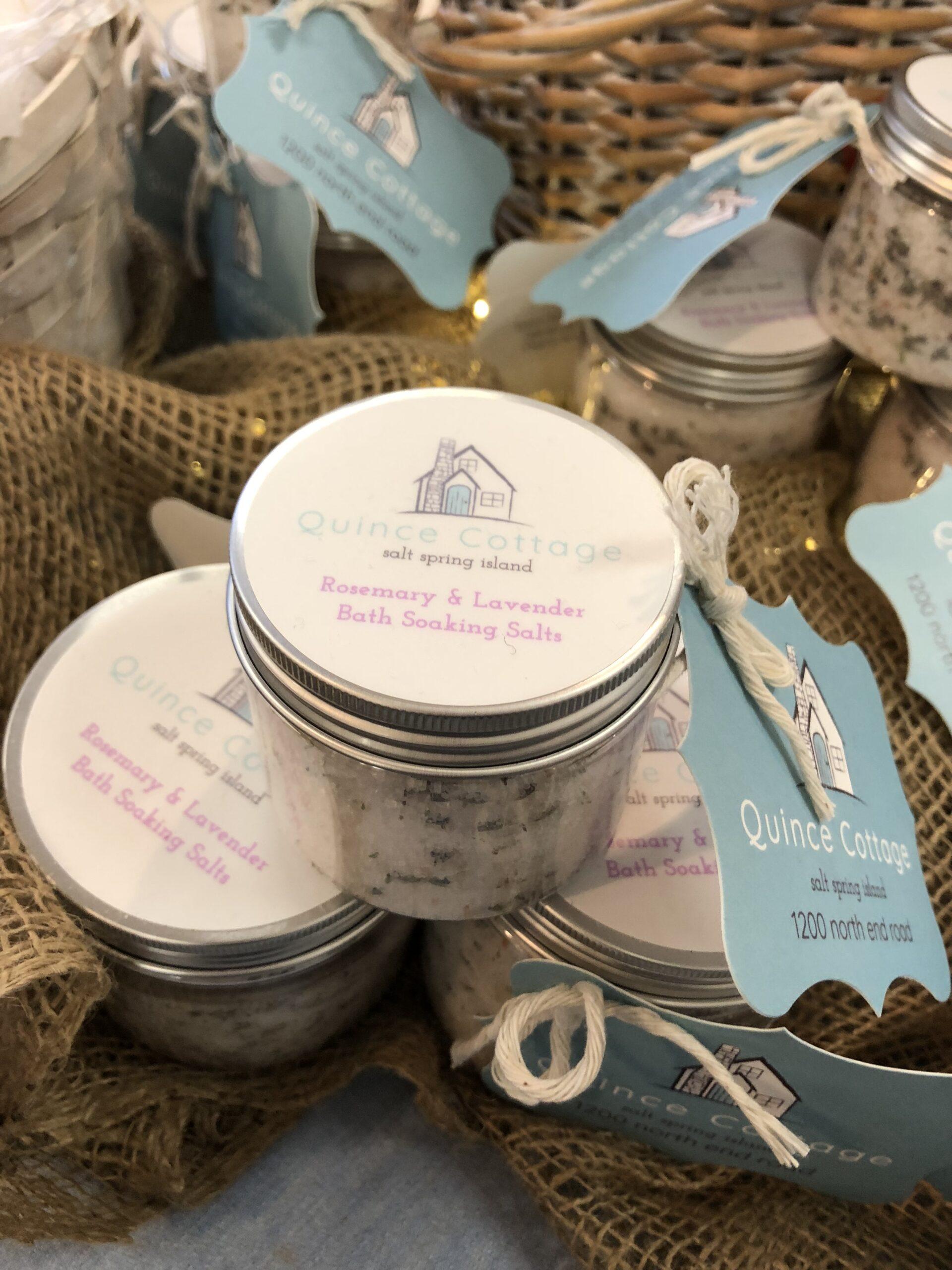 Rosemary & Lavender Bath Soaking Salts